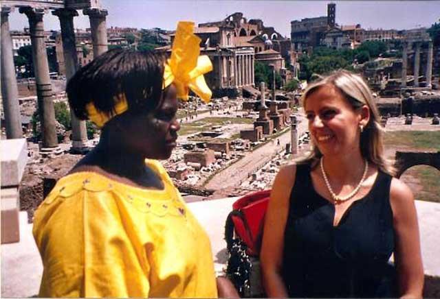 Anna Bruno e Wangari-Maathai