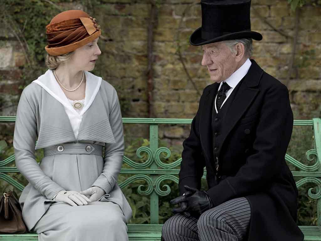 Mr Holmes e dama