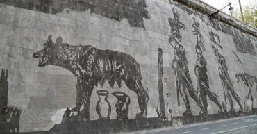 Street art di William Kentridge