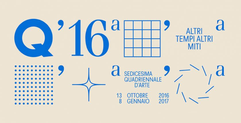 Sedicesima Quadriennale Arte contemporanea Roma