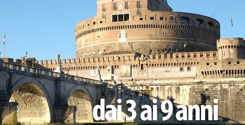Castel Sant'Angelo 3-9 anni