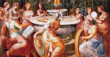 Pomarancio - Sala delle muse